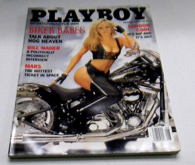 Playboy Adult Magazine Biker Babes August 1997 nm 030314lm-ep - Used