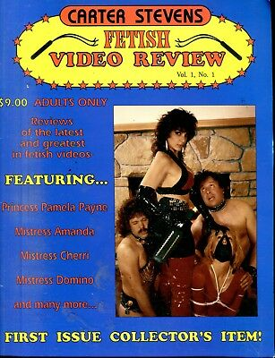 Fetish Video Review Magazine Princess Pamela Payne vol.1 #1 1994 050918lm-ep