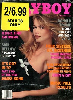 Lot Of 2 Playboy Magazines November 1995/ May 1997 Donald Trump 030818lm-ep2 - Used