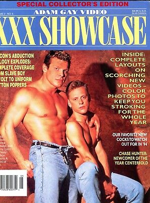 Adam Gay Video XXX Magazine Chance Caldwell vol.2 #5 1994 111617lm-ep - New