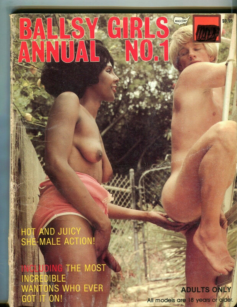 Magcorp Ballsy Girls Annual She-Male Magazine #1 1981 Magcorp 080719lm-ep - Used