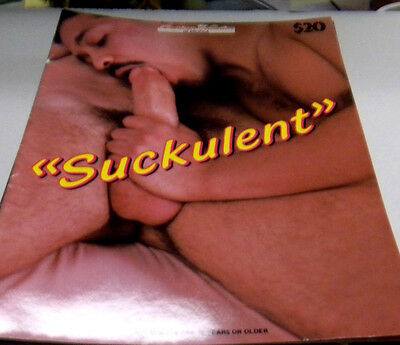 Suckulent Gay Adult Magazine Robert Vega vg 123113lm-ep
