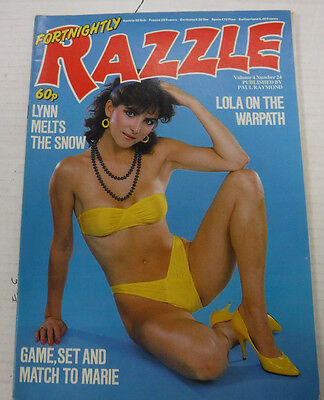Razzle Busty Adult Magazine Paul Raymond Publication vol.4 #24 090515lm-ep