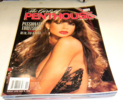 Girls Of Penthouse Adult Magazine November 1992 ex 04014lm-ep - Used