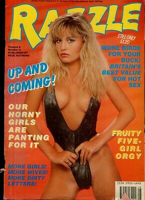 Razzle Magazine Five-Girl Orgy vol.8 #8 Paul Raymond 070718lm-ep