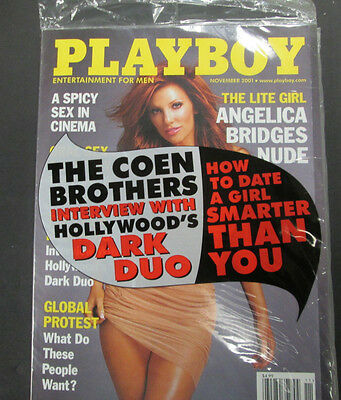 Playboy Adult Magazine Angelica Bridges November 2001 new/sealed 040115lm-ep2 - Used