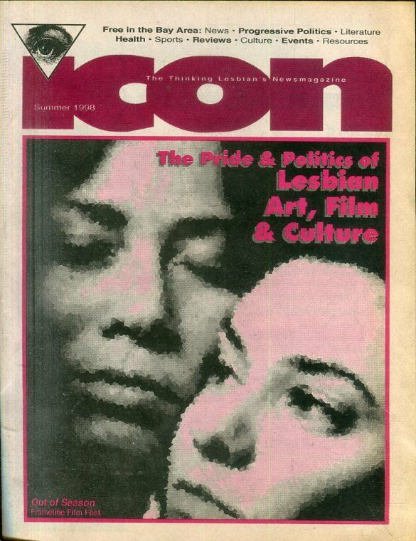 Icon Lesbian Newspaper Art, Film & Culture Summer 1998 040819lm-ep2 - Used