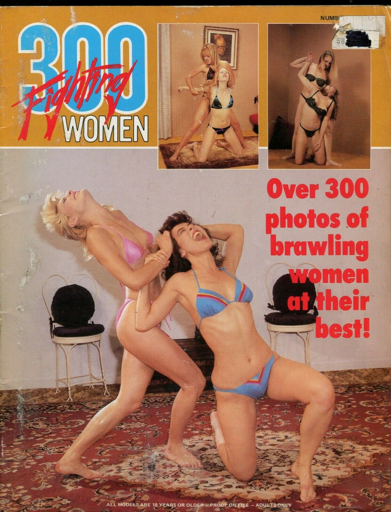 300 Fighting Women Magazine Over 300 Photos! #1 April 1988 061719lm-ep - Used
