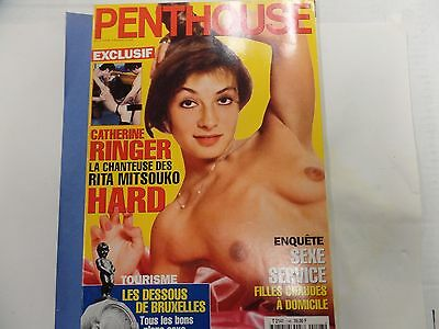 Penthouse Adult French Magazine Catherine Ringer May 1997 031016lm-ep - New