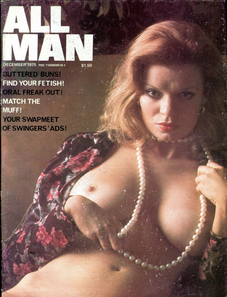 All Man Magazine Cheri / Oral Freak Out! December 1975 061219lm-ep - Used