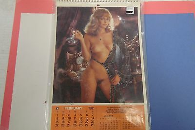 Playboy 1981 Playmate Calendar Ms. Ola Ray 062816lm-ep - Used