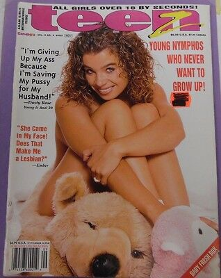 Teenz Magazine Dusty Rose vol.5 #9 May 2001 1113912lm-epa - Used