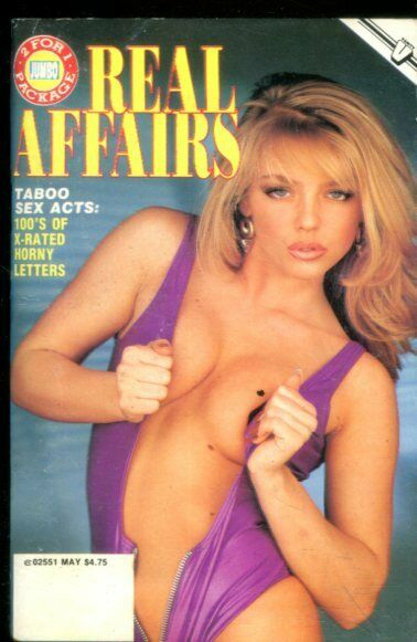 Real Affairs Digest Lesbians In Heat! May 1994 020619lm-ep