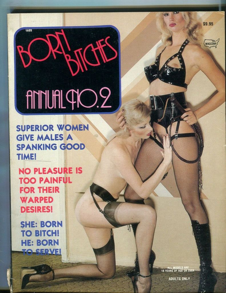 Magcorp Born Bitches Annual Superior Women #2 1982 Magcorp 080719lm-ep2 - Used
