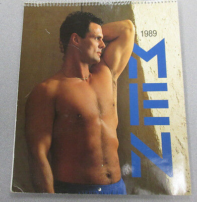 1989 Male Models Adult Magazine ex 022715lm-ep - Used