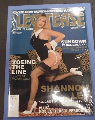 Lesbian Lust Adult Magazine Shannon Lee February 1998 nm 123115lm-ep - Used
