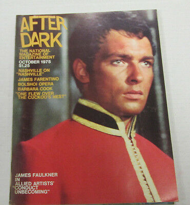 After Dark Adult Magazine James Faulkner October 1975 vg 101814lm-ep