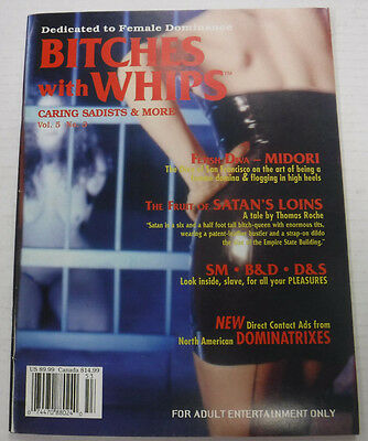 Bitches With Whips Adult Magazine Fetish Diva Midori vol.5 #3 1995 081915lm-ep