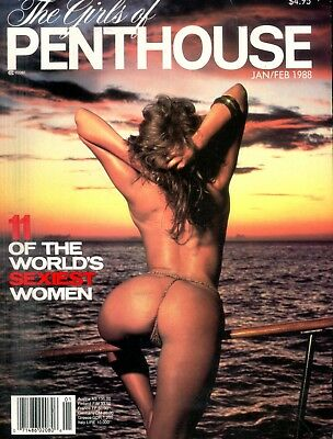 Girls Of Penthouse 11 World's Sexiest January 1988 102918lm-ep - Used
