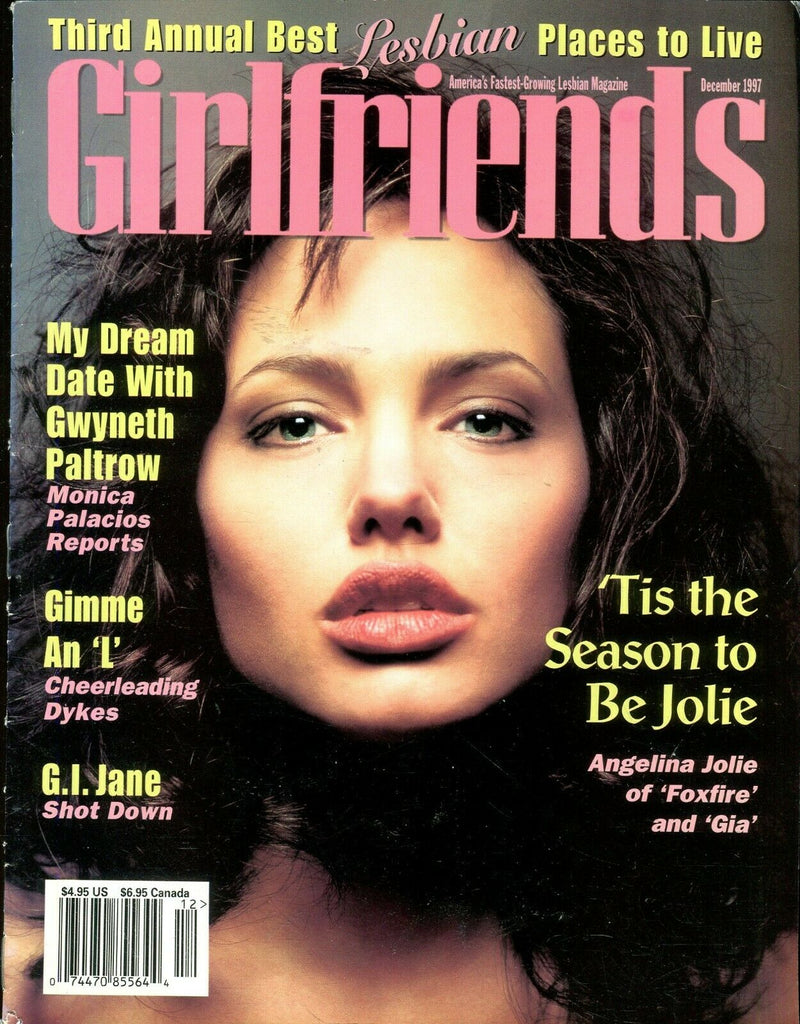 Girlfriends Girlfriends Lesbian Magazine Angelina Jolie/ Gia December 1997 110619lm-ep - Used