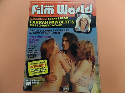 Adam Film World Magazine Farrah Fawcett's 1st X-Rated Movie vol.6 051216lm-ep - Used
