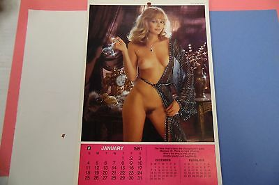 Playboy 1981 Playmate Calendar Monique 062816lm-ep - Used