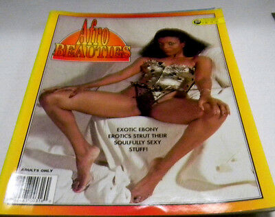 Afro Beauties Adult Magazine Vol.2#2 Parliament Publishers 1995 103013lm-ep