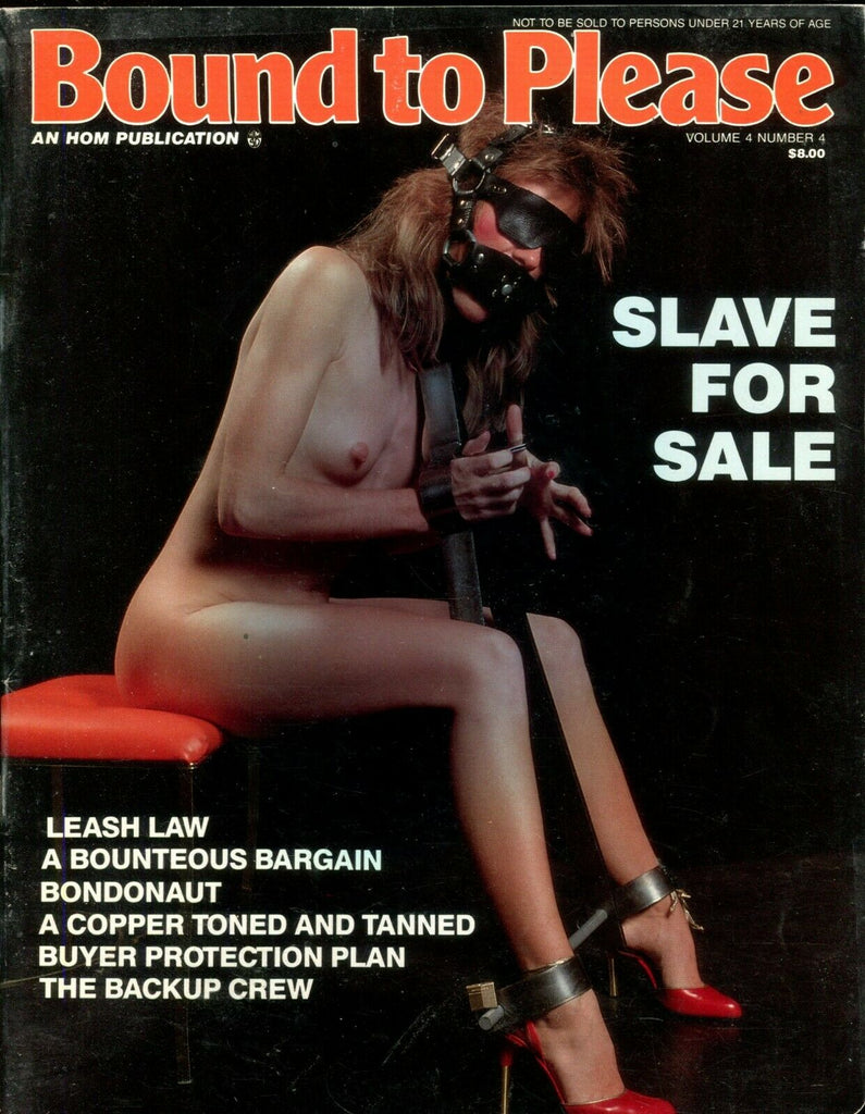 Bound To Please Magazine Bondonaut vol. 4 #4 1987 HOM 112219lm-ep