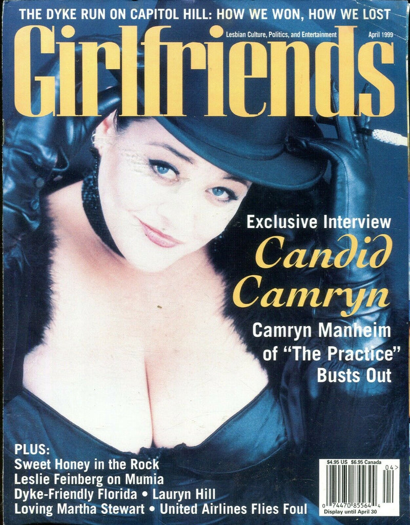 Girlfriends Girlfriends Lesbian Magazine Cameron Manheim April 1999 110619lm-ep - Used