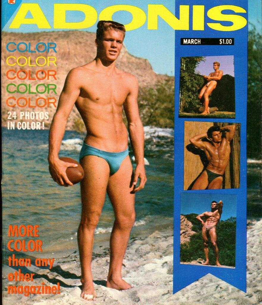 Adonis Gay magazine Dennis Cole February 1963 051319lm-ep3 - New