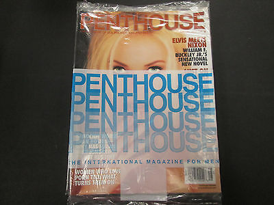 Penthouse Adult Magazine Elvis Meets Nixon August 2001 sealed 032015lm-ep - New