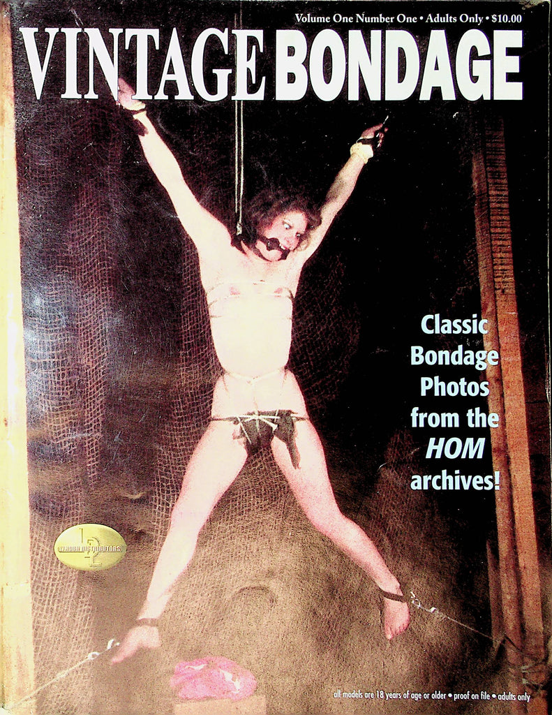 Vintage Bondage Magazine  Tied & True / Hom Archives #1 2002 London Enterprises   101220lm-sh