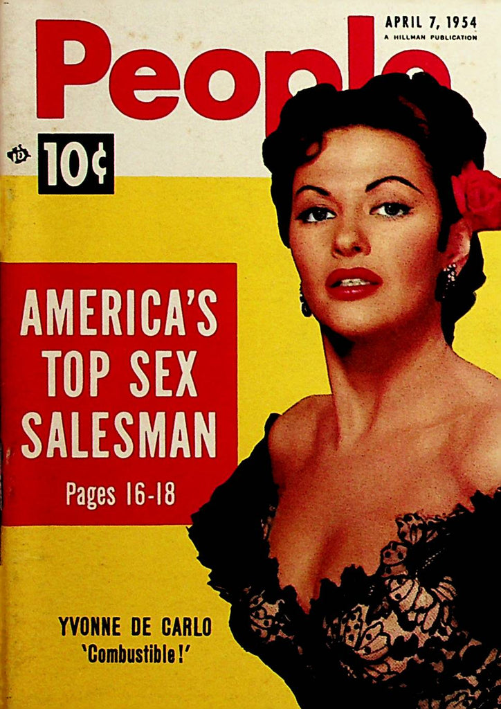 People Mini Digest   Yvonne De Carlo  April 7, 1954    091520lm-sh