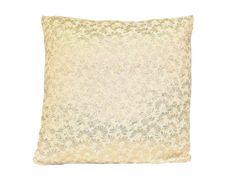 Gold Flower Cushion