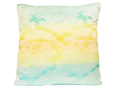 Yellow Clouds Cushion