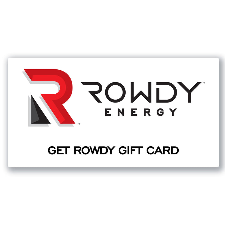 Rowdy Energy Gift Card