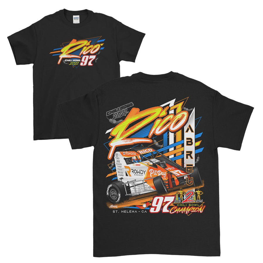 Rico Abreu Rowdy Energy Chili Bowl T-Shirt