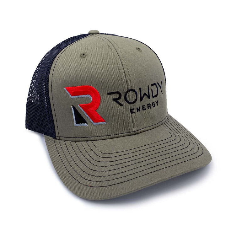 Rowdy Energy Loden Trucker Hat
