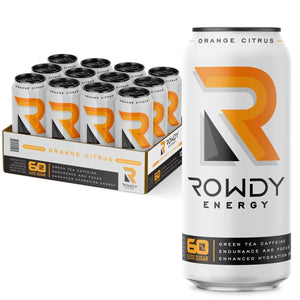Rowdy Energy Orange Citrus 12-pack