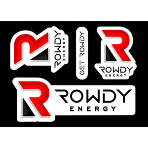 Get Rowdy Sticker Sheet