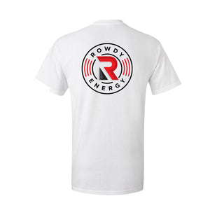 Rowdy Energy Coin Logo T-Shirt