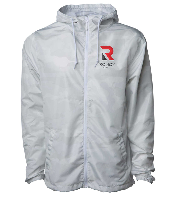 Rowdy Energy White Lightning Zip Jacket