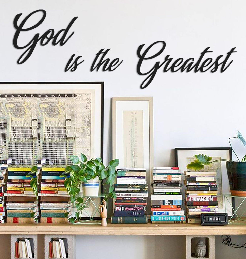 God is Greatest Duvar Yazısı - Vivalias