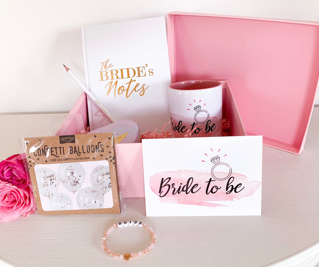 "Geschenkset ""Bride to be"" – small"