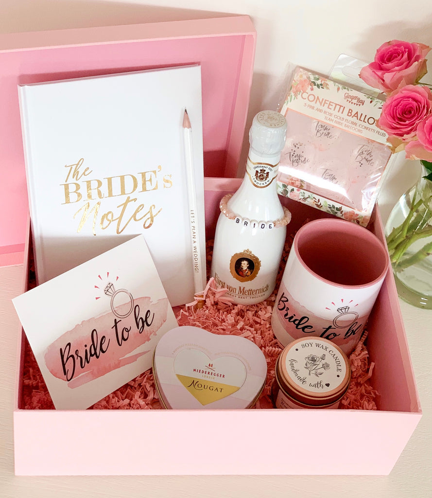 "Geschenkset ""Bride to be"" – medium"