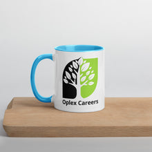 Load image into Gallery viewer, Oplex Careers Mug with Colour Inside