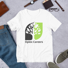Load image into Gallery viewer, Oplex Careers Logo Short-Sleeve Unisex T-Shirt