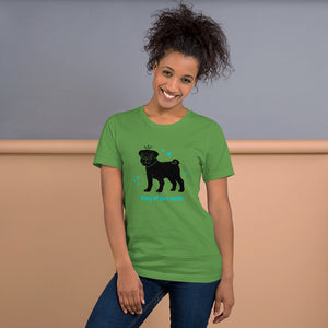 King of This Castle Dog - Short-Sleeve Unisex T-Shirt