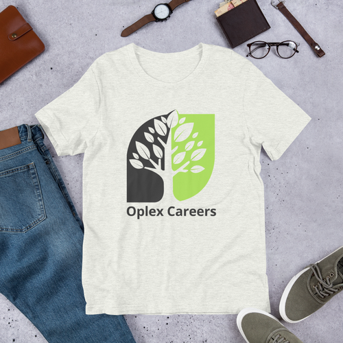 Oplex Careers Logo Short-Sleeve Unisex T-Shirt