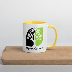 Oplex Careers Mug with Colour Inside